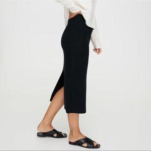 Aritzia 'Johan' Wool Pencil Skirt